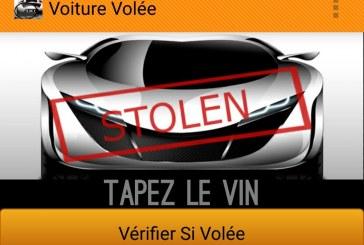 Stolen Car Checker – L'application qui vous permet de vérifier si un véhicule est volé