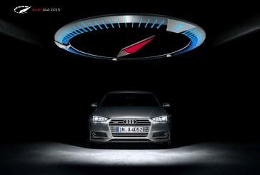 Audi à l'IAA 2015: la puissance par quatre