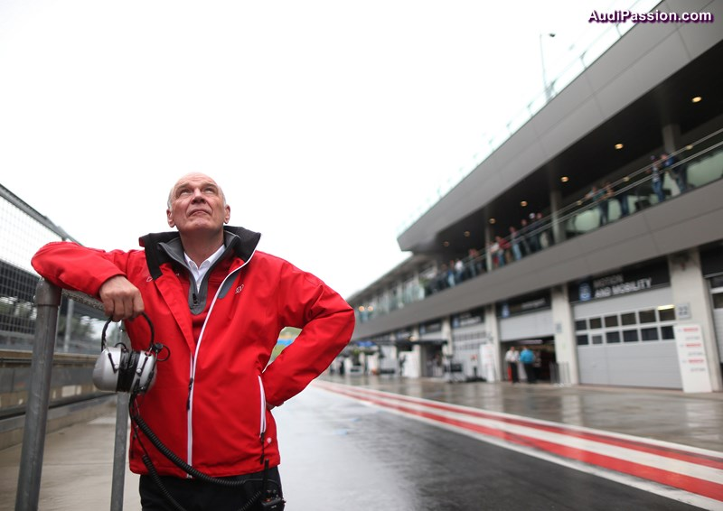 Dr. Wolfgang Ullrich (Head of Audi Sport)