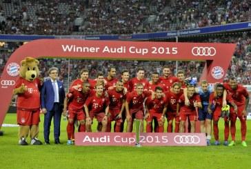 Audi Cup 2015 – Le Bayern Munich remporte l'édition 2015 face au Real Madrid