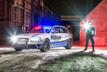 Une Audi RS 4 Avant pour la Police de New South Wales en Australie