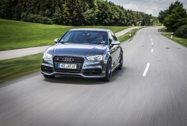 Attention, ça pousse: ABT Sportsline fournit 400 chevaux à l'Audi S3 berline