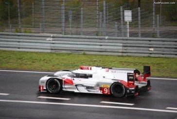 Essais Audi R18 e-tron et Porsche 919 Hybrid au Nürburgring.