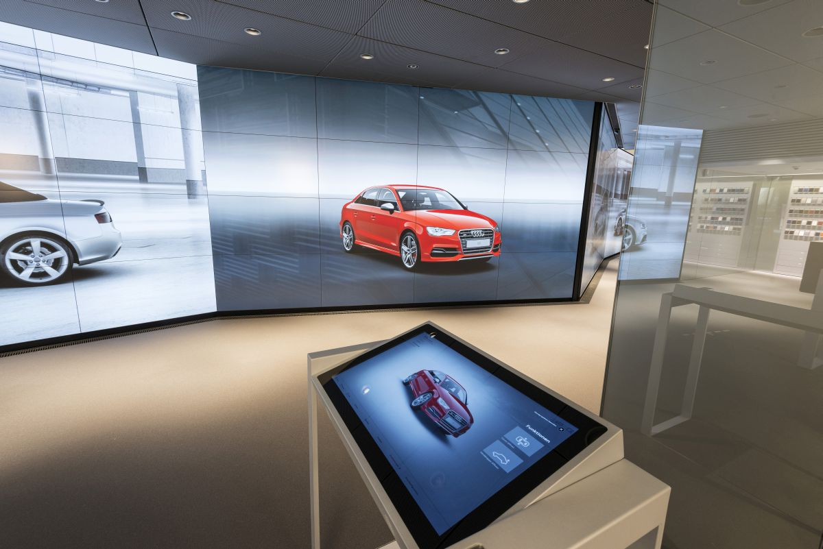 Audi City Paris - Audi annonce son showroom virtuel en France