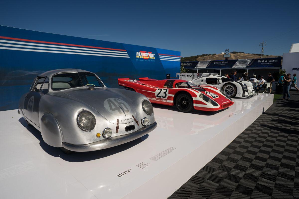 Porsche Rennsport Reunion V au Laguna Seca (USA) - Un superbe plateau