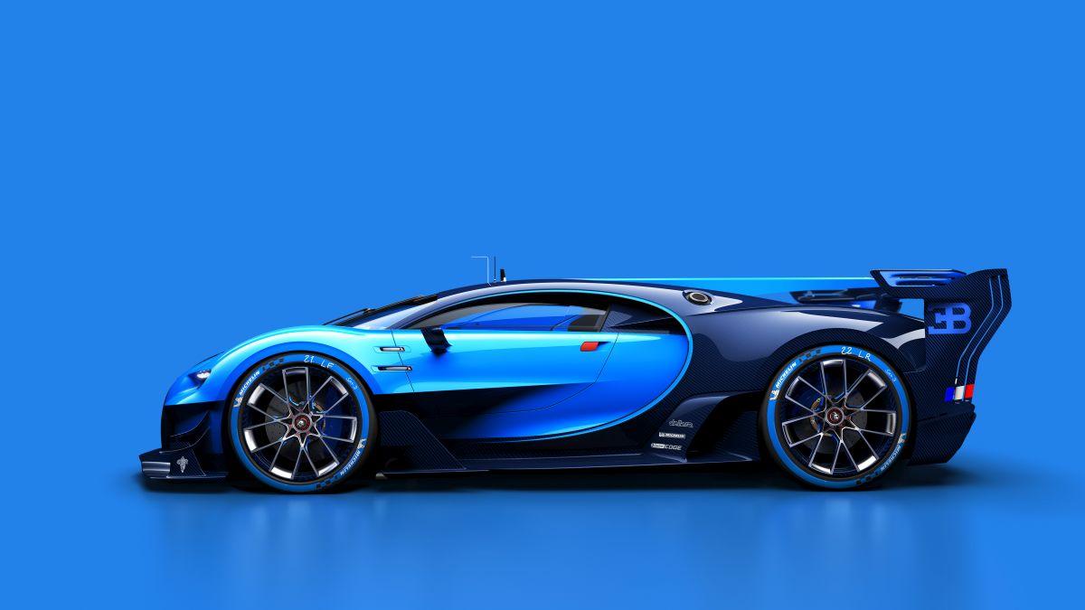 Bugatti Vision Gran Turismo - Première mondiale à l'IAA 2015