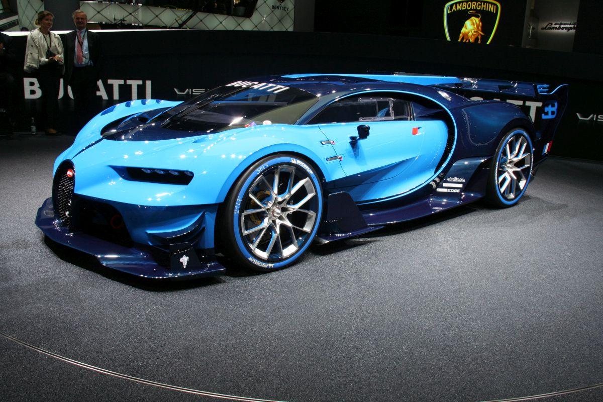 Live IAA 2015 - Vidéo de la Bugatti Vision Gran Turismo