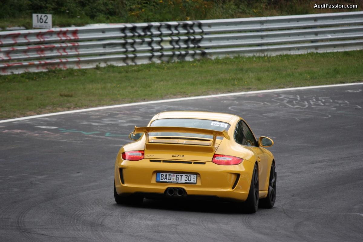 Les Porsche vues au Nürburgring cet été.