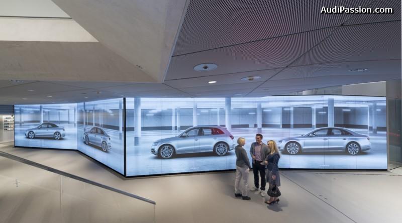 audi city paris audi annonce son showroom virtuel en france. Black Bedroom Furniture Sets. Home Design Ideas