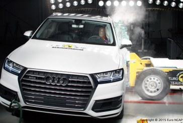 Crash-tests Euro NCAP : 5 étoiles pour l'Audi Q7