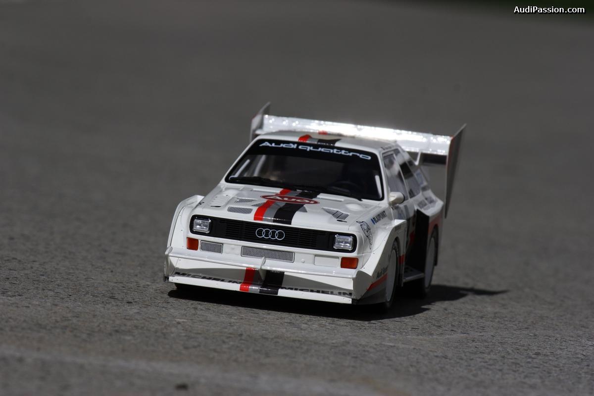 Audi S1 Pikes Peak 1:18 par Ottomobile