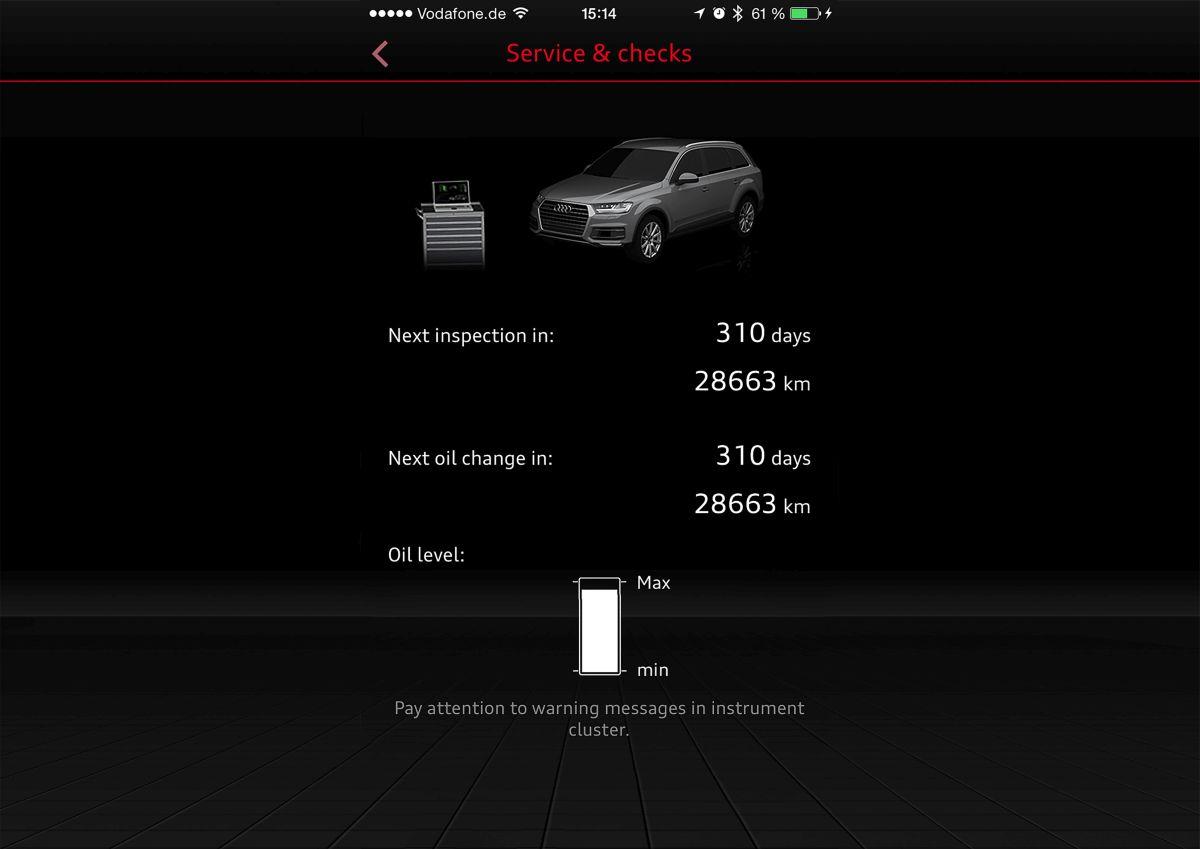 Nouveaux services Audi connect - Sécurisés et pratiques pour les Audi Q7 et A4/S4 B9