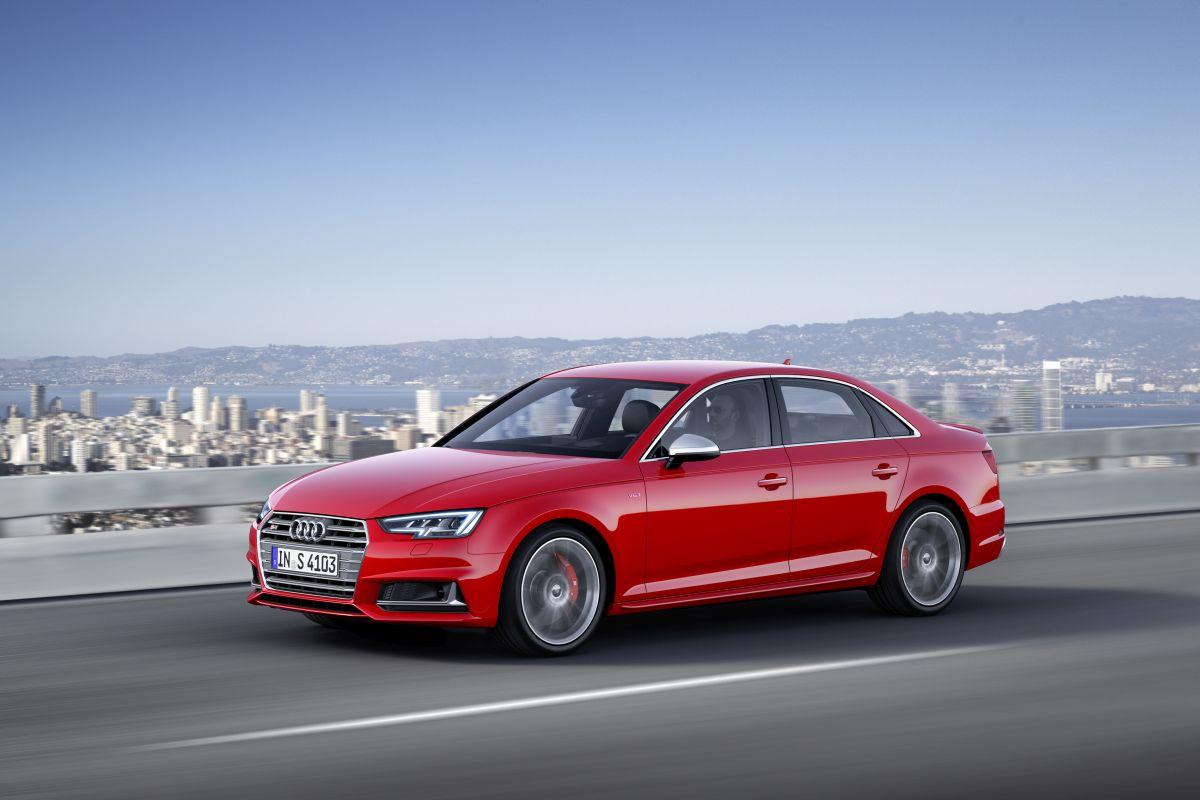 IAA 2015 - Nouvelles Audi S4 et S4 Avant B9
