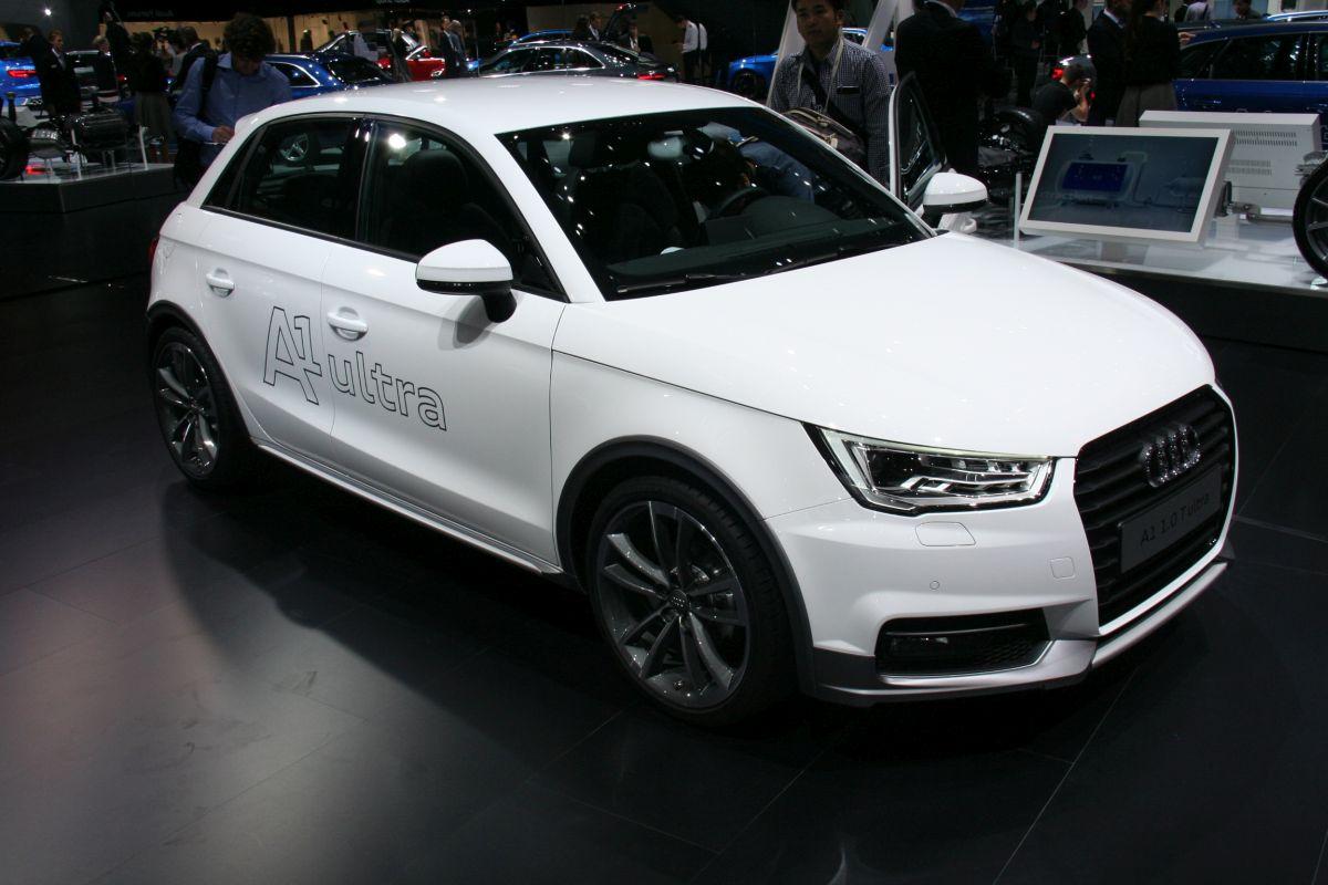 Live IAA 2015 - Audi A1 Active et nouveaux accessoires Audi