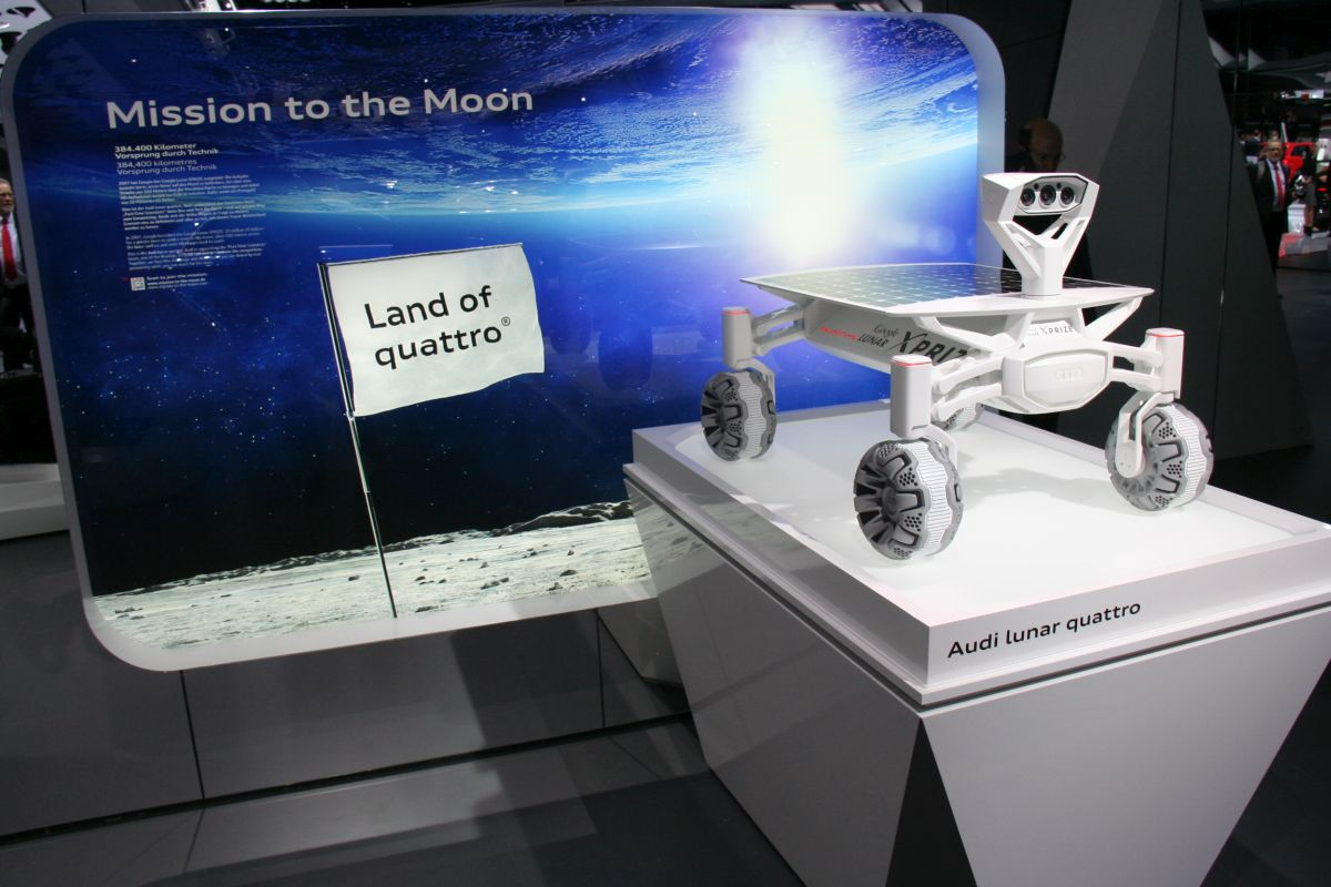 Live IAA 2015 - Audi lunar quattro - Mission to the Moon