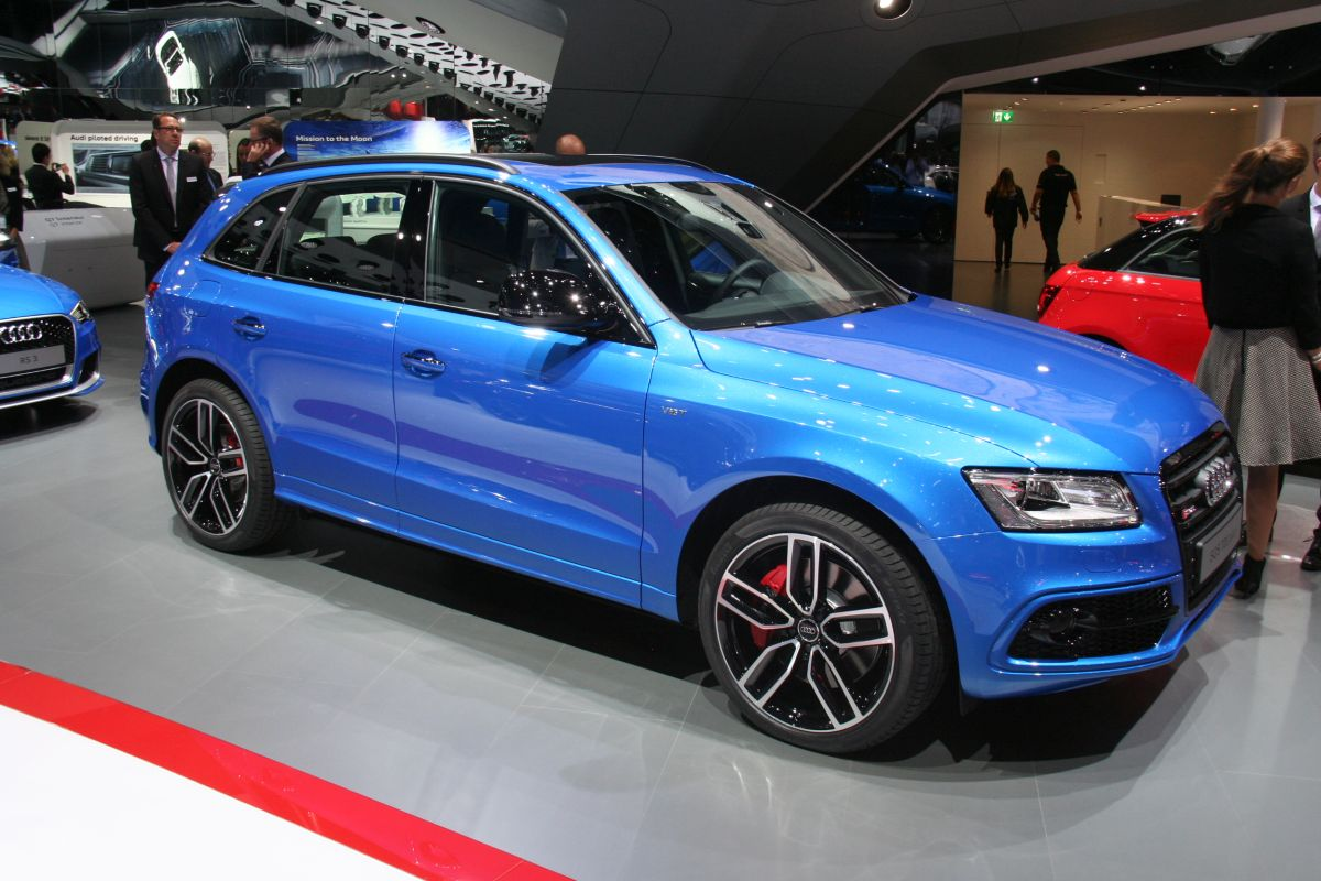 Live IAA 2015 - Audi SQ5 TDI plus