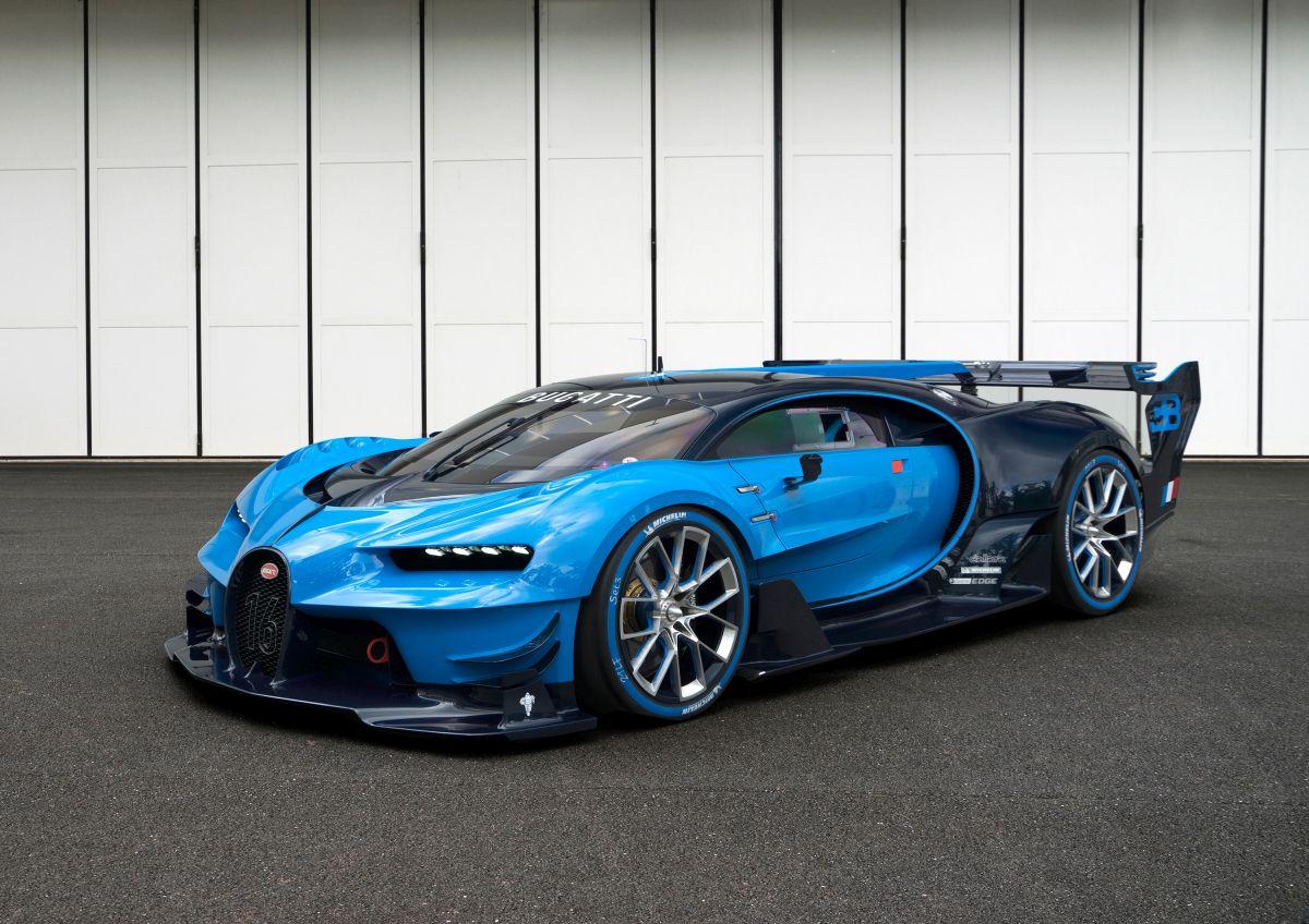 IAA 2015 - Le concept car Bugatti Vision Gran Turismo conçu pour les fans