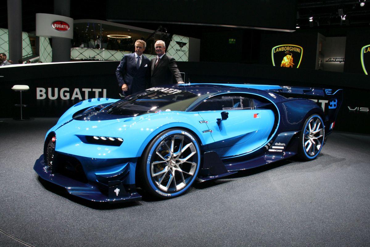 Live IAA 2015 - Bugatti Vision Gran Turismo en détail