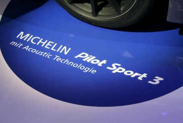 Live IAA 2015 – Technologie Michelin Acoustic en série sur les pneus Michelin Pilot Sport 3