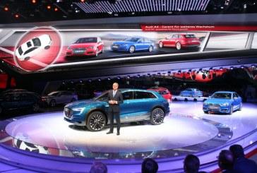 Live IAA 2015 – Nouveautés Audi : Audi A4 & S4, E-tron quattro concept