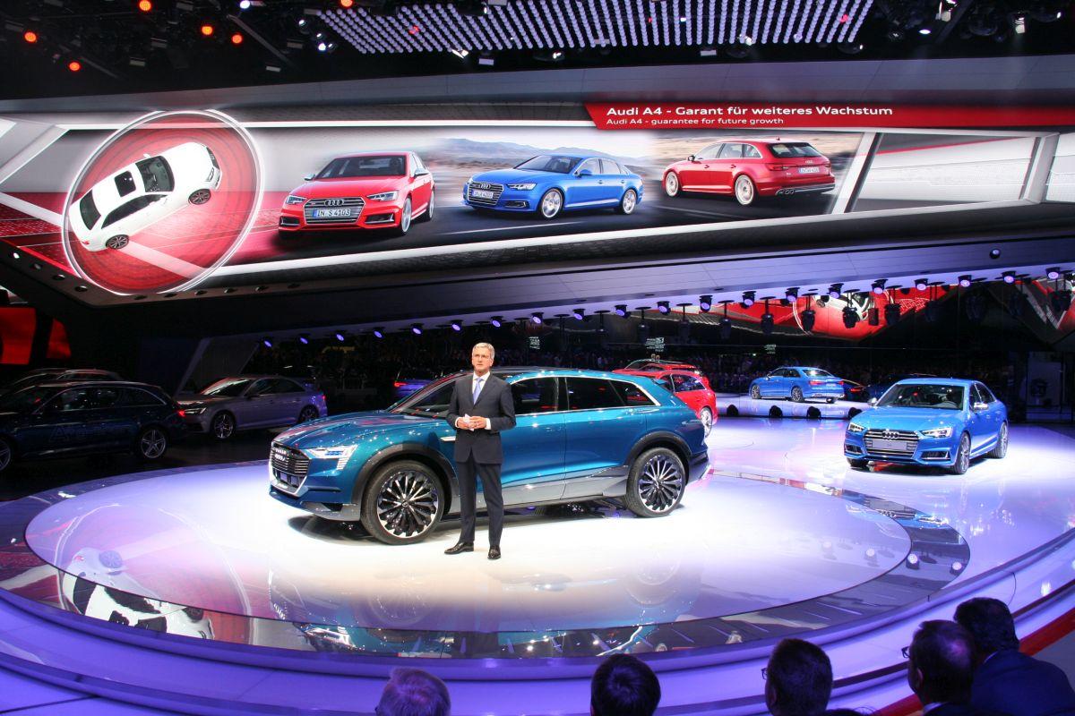 Live IAA 2015 - Nouveautés Audi : Audi A4 & S4, E-tron quattro concept