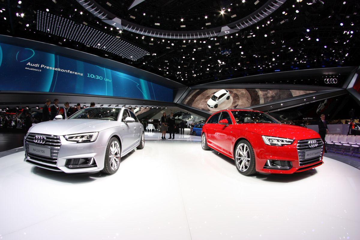 Live IAA 2015 - Des pneus Hankook en première monte sur les nouvelles Audi A4 & S4