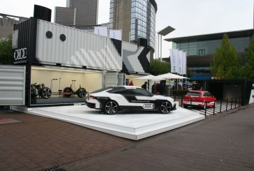 Live IAA 2015 – Audi piloted driving & Audi wireless charging – Audi A3 e-tron