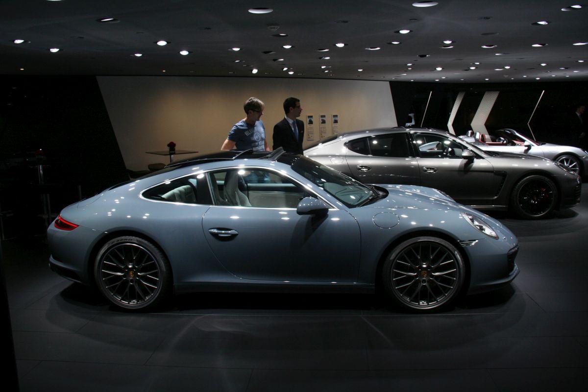 Live IAA 2015 - Visite en vidéo du salon Porsche Exclusive & technologies 911
