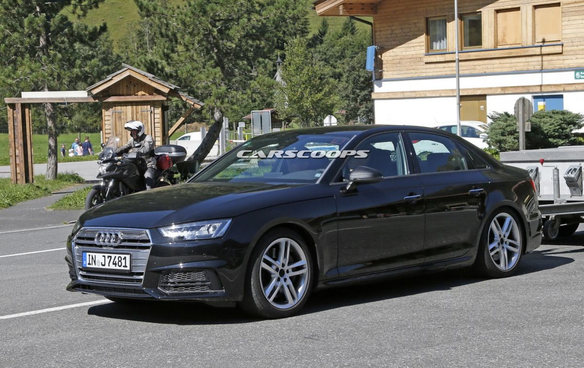Premières photos de l'Audi S4 B9