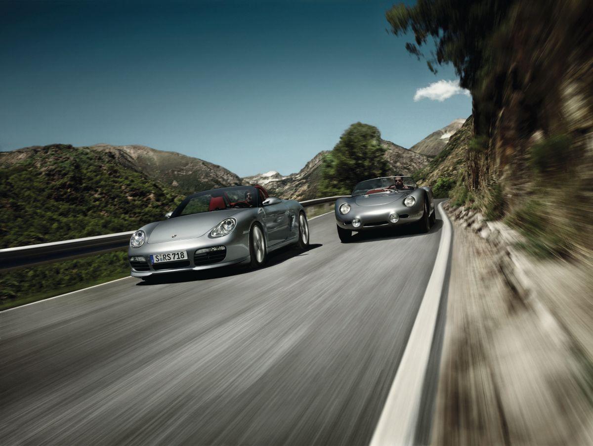 Porsche Spyder - Saga d'une lignée de modèles rapides par tradition