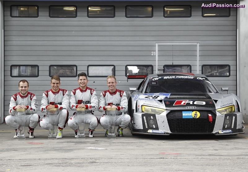 The new Audi R8 LMS already proved its prowess in May on clinching overall victory in the 24-hour race at the Nürburgring