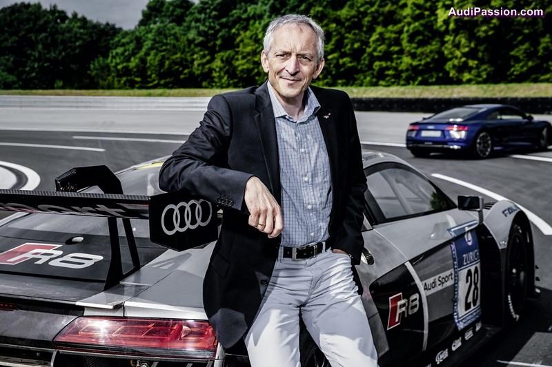 Romolo Liebchen, Head of Audi Sport customer racing