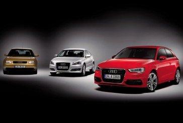 L'Audi A3 fête ses 20 ans