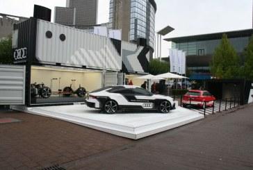 Live IAA 2015 – Audi piloted driving & Audi wireless charging – Audi A3 e-tron