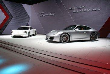 Live IAA 2015 – Visite en vidéo du stand Porsche (911 Carrera, Mission E)