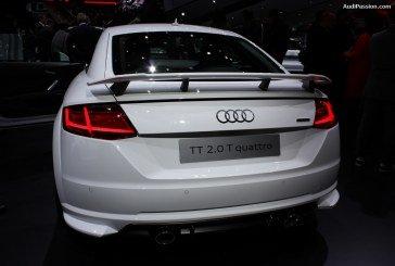 Live IAA 2015 – kit carrosserie Audi pour TT 8S