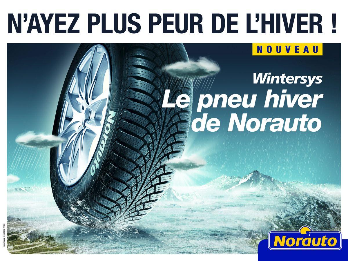 Norauto lance son premier pneu hiver à sa marque : le Wintersys
