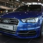 Audi S3 8V bleue Sepang et argent lunaire