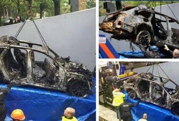 Vol et incendie de l'ex Audi RS 6 DTM de Jon Olsson