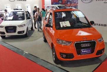 Kocu Audi – Une drôle de voiture électrique chinoise
