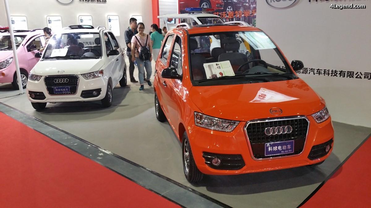 Kocu Audi - Une drôle de voiture électrique chinoise