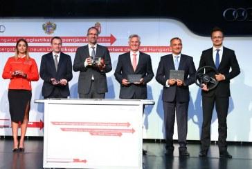 Audi Hongrie investit dans un nouveau centre logistique à Györ