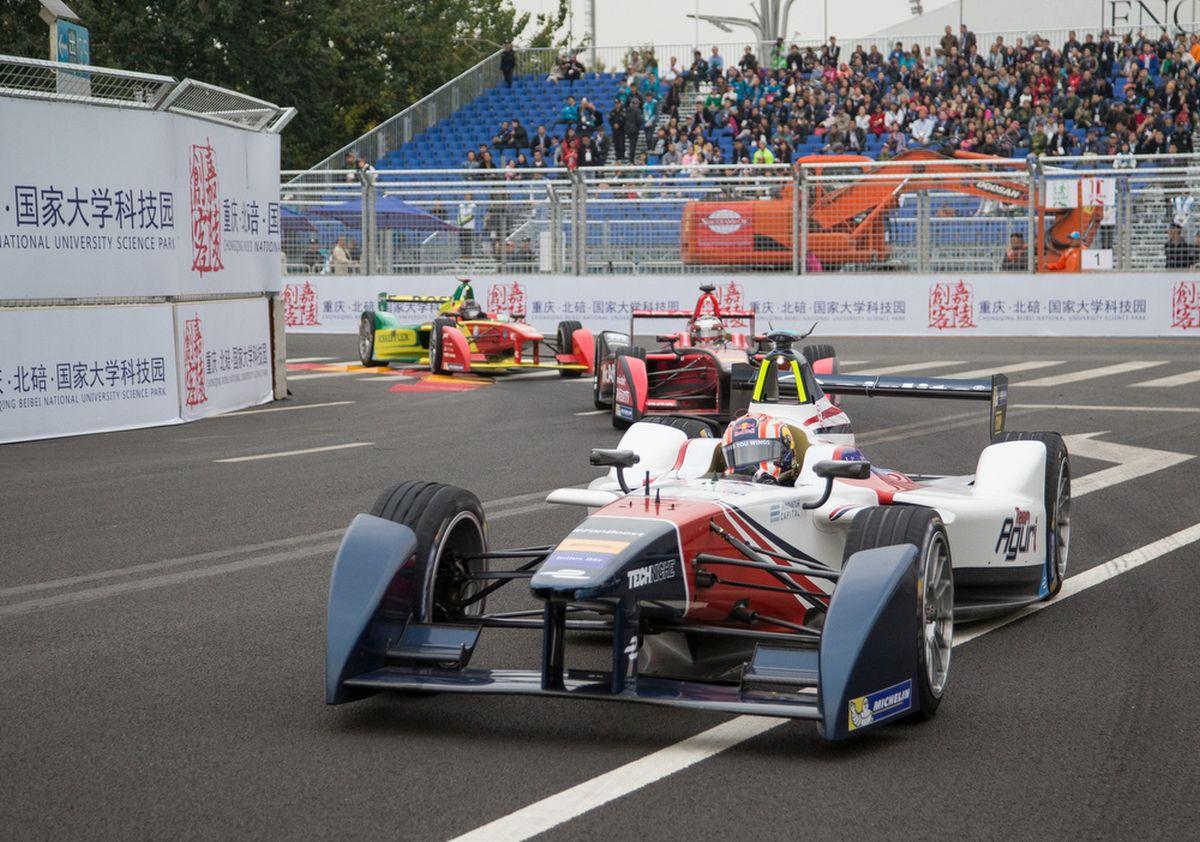 Formula E 2015/2016 - Le Michelin Pilot Sport EV relève les nouveaux défis de la Formula E