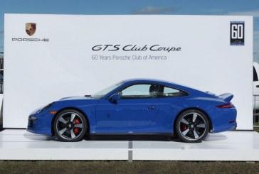 Porsche 911 Carrera GTS Club Coupe – 60 exemplaires pour le Porsche Club of America