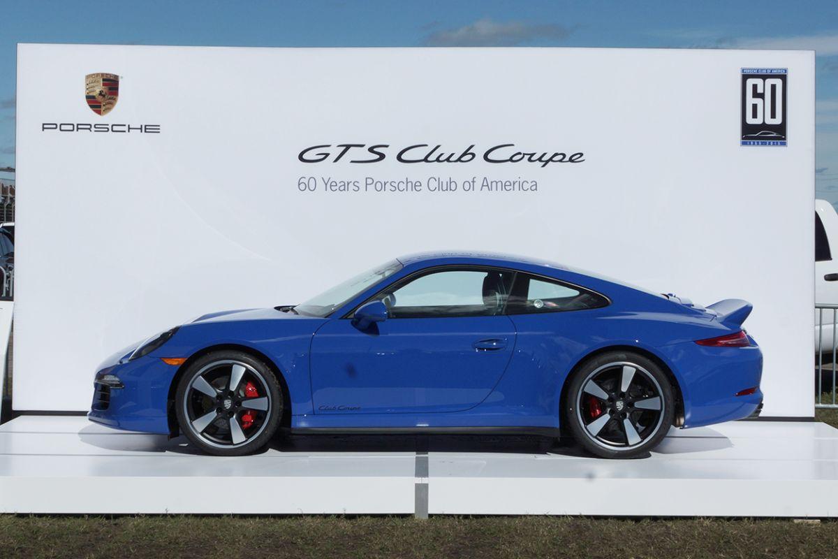 Porsche 911 Carrera GTS Club Coupe - 60 exemplaires pour le Porsche Club of America