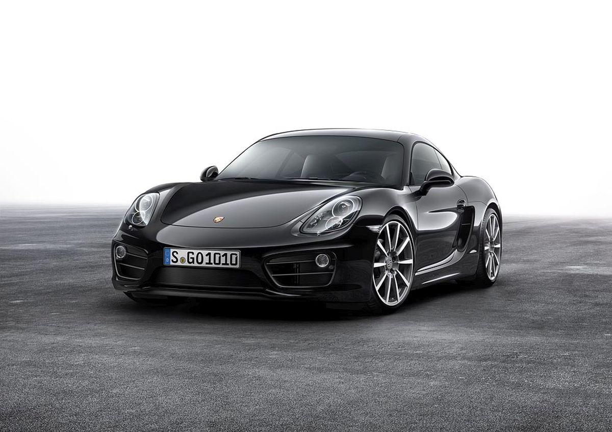Porsche Cayman Black Edition - La série spéciale est de retour