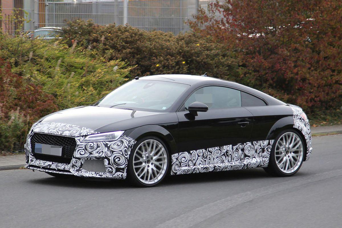 Spyshots - La nouvelle Audi TT RS est en approche