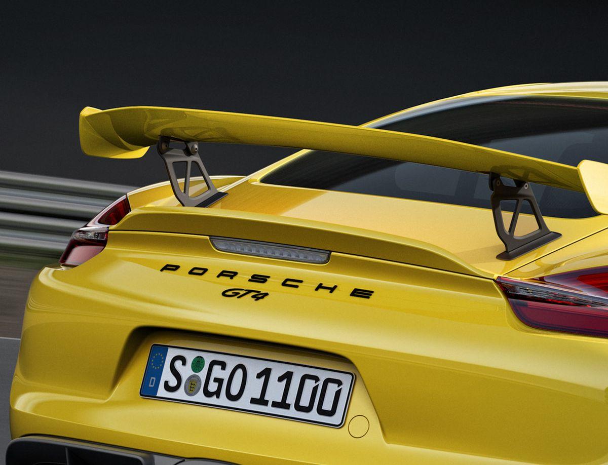 Porsche Cayman GT4 Clubsport - Levé de rideau le 18 Novembre 2015