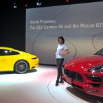 Tokyo 2015 – Première mondiale des Porsche Macan GTS et 911 Carrera 4S