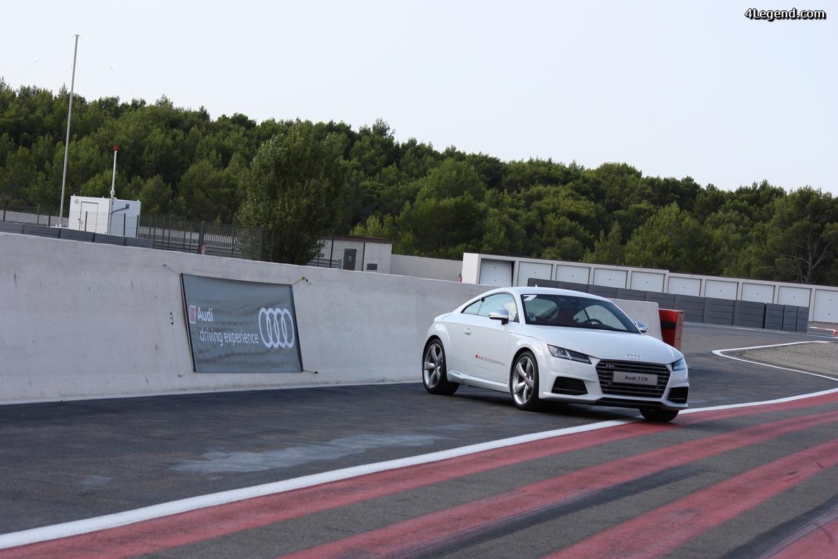 Audi TT Experience au Castellet